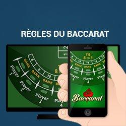 Apprenez les règles du baccarat en ligne de casino